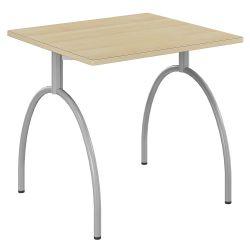 Table 80 x 80 Volutt stratifiée chant alaise bois