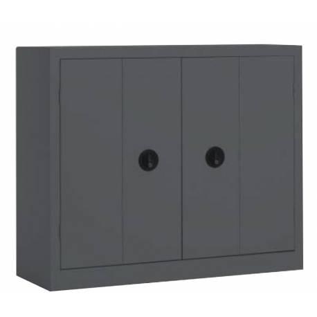 Armoire monobloc porte pliantes