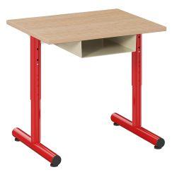 Table Petite Frimousse 60X50 avec casier