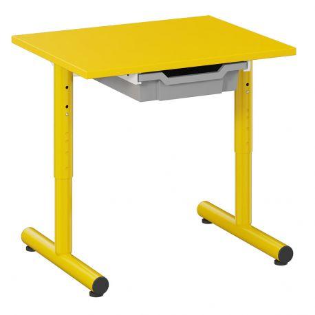 Table Petite Frimousse 60 x 50 avec tiroir