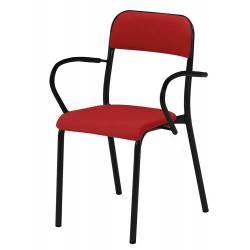 chaise 4 pieds rembourée cat.A TREVISE