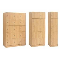 Meuble casiers SIMEO - Fermeture moraillon visitable