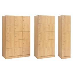 Meuble casiers SIMEO - Serrure