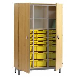 Armoire portes battantes + bacs PICCOLO