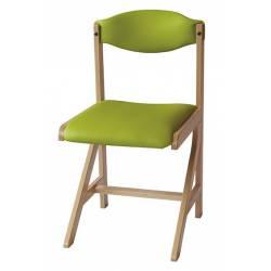 Chaise 4 pieds AST rembourrée DREUX