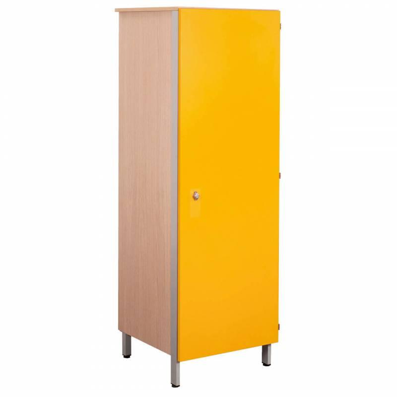 armoire 1 porte 1 2 penderie cubik simire. Black Bedroom Furniture Sets. Home Design Ideas