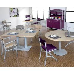Table MOKA 120x80 - Stratifié - Chants PP