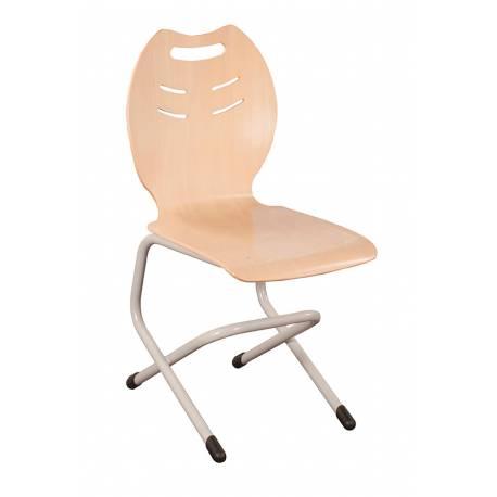 Chaise coque bois double AST 4 BANDANA