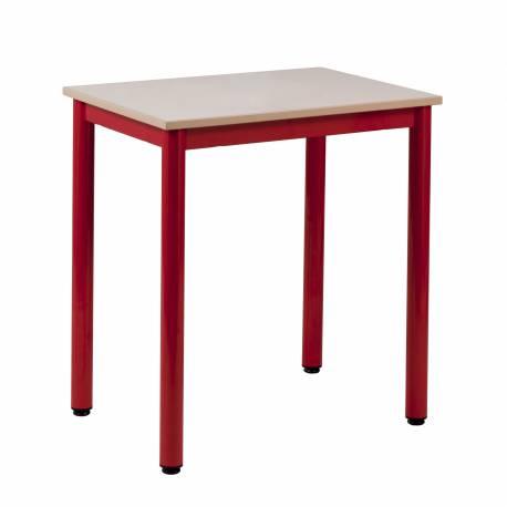 Table CARELIE 70 x 50 - Mélaminé - Chants PP
