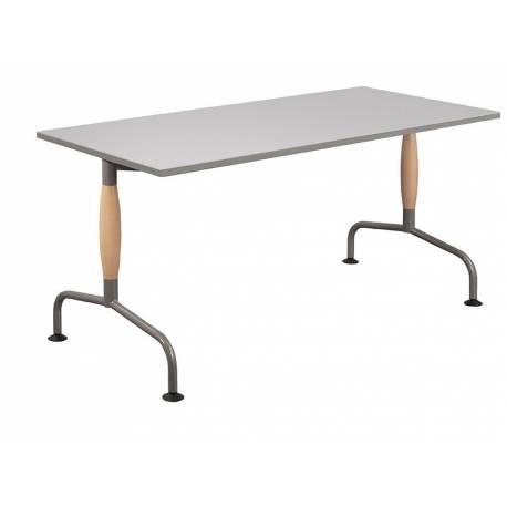 Table LUNA BOIS Plateau stratifié - Chants PP