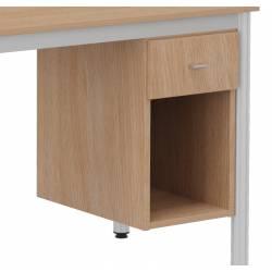 Caisson 1 tiroir + niche
