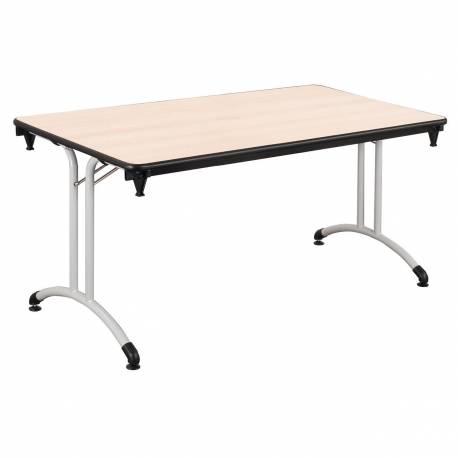 Table PLUME plateau allégé startifié chant PP